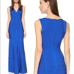 Herve Leger Annabelle gown